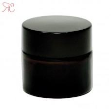 Amber glass jar, 10 ml