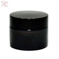 Amber glass jar, 30 ml