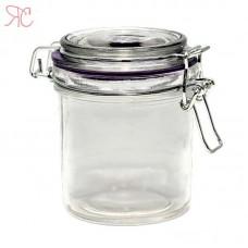 Glass jar with cap wire 300 ml