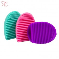 Silicone cosmetic brush cleaner